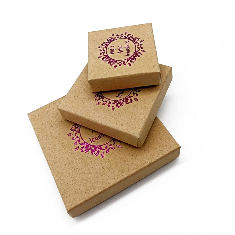 FSC®-certified cardboard Eco jewellery box
