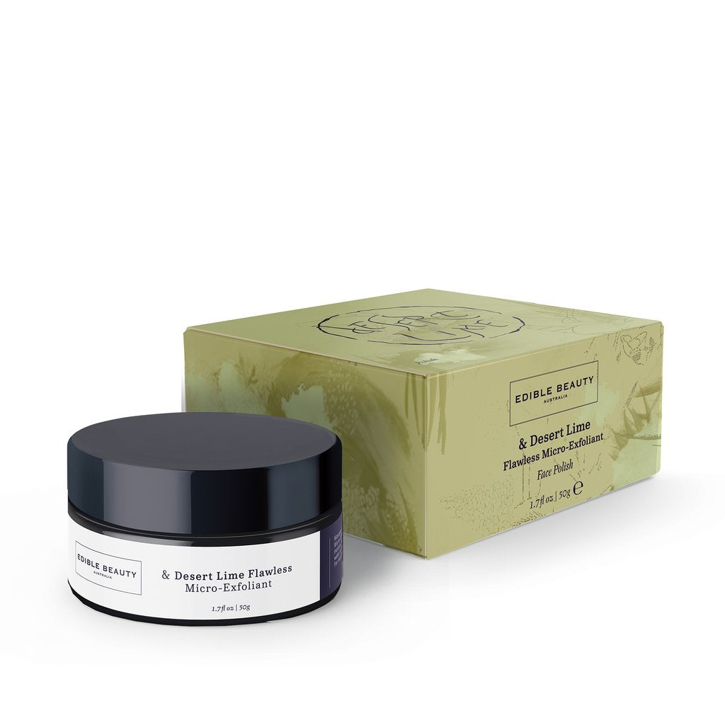Edible Beauty - & Desert Lime Flawless Micro-Exfoliant 50 g