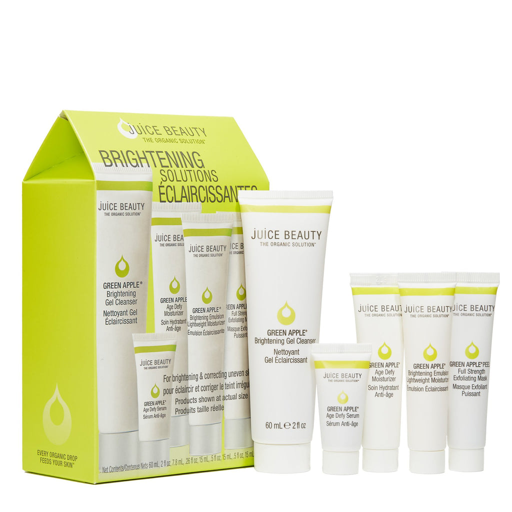 Juice Beauty - Green Apple Brightening Solutions Kit