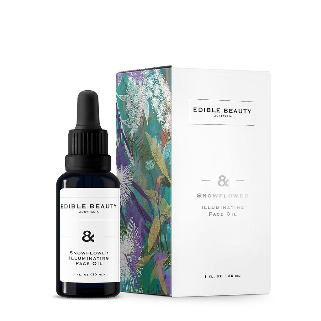 Edible Beauty - & Snowflower Illuminating Face Oil 30 mL