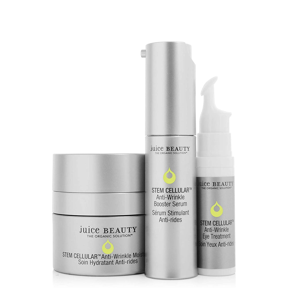 Juice Beauty Stem Cellular Anti-Wrinkle Solutions Kit.