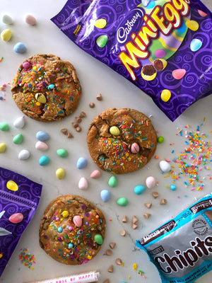 April Special: Mini Eggs Surprise Cookie
