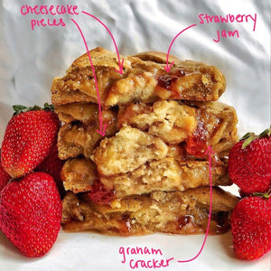 August Special: Strawberry Cheesecake - BAK'D Cookies