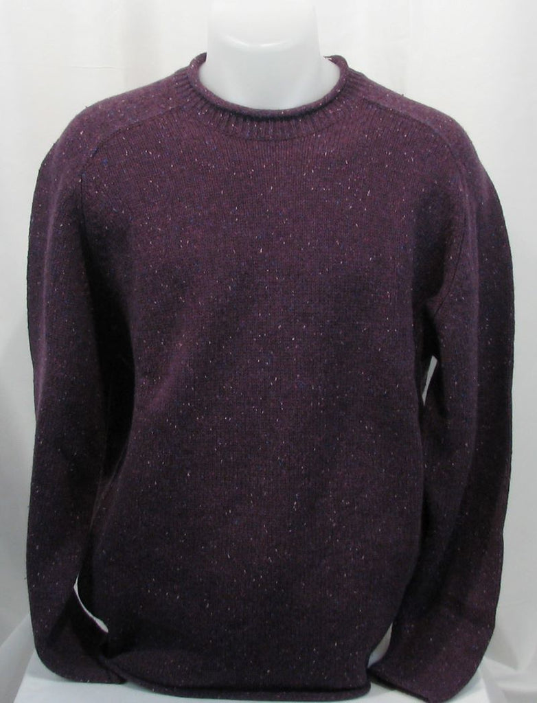 Mens rolled neck sweater