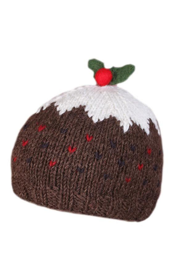 Christmas Pudding hat kenny  woollen Mills