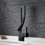 Modern Single Handle Bathroom Faucet