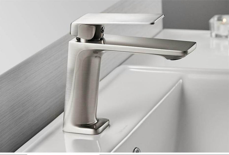 Modern Top Handle Bathroom Faucet