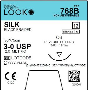 LOOK | SILK 768B SUTURES ProNorth Medical Corporation