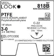 LOOK | PTFE 818B SUTURES ProNorth Medical Corporation