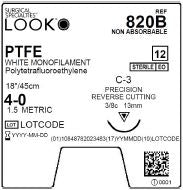 LOOK | PTFE 4-0 820B SUTURES ProNorth Medical Corporation