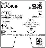 Copy of LOOK | PTFE 4-0 820B SUTURES ProNorth Medical Corporation