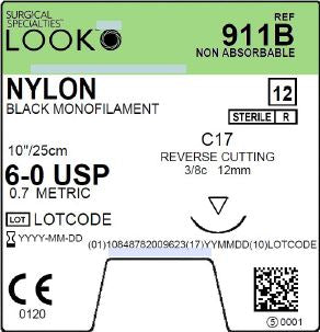 LOOK | NYLON 911B SUTURES ProNorth Medical Corporation