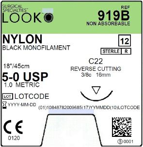 LOOK | NYLON 919B SUTURES ProNorth Medical Corporation