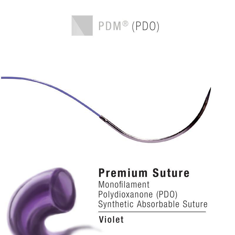 MCD-3/0 | Micro Cassette, PDM, PDO, Violet, Size 3-0, 25m ProNorth Medical Corporation