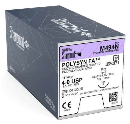 SHARPOINT | POLYSYN M494N SUTURES ProNorth Medical Corporation