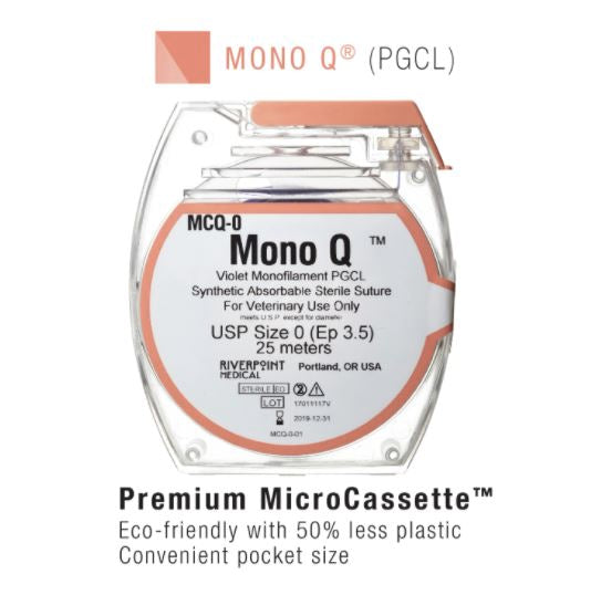 MCQ-2 | Micro Cassette, MONO Q, PGCL, Violet, Size 2, 25m ProNorth Medical Corporation