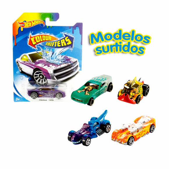 Hot Wheels Color Shifters (Varios Modelos)