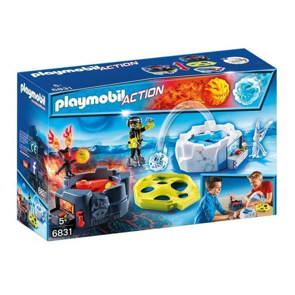 Playmobil Sports Action Zona De Combate Con Robots