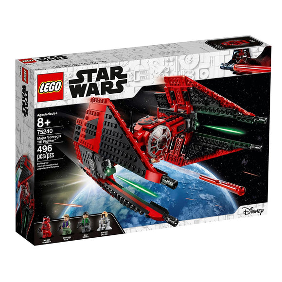 LEGO Star Wars Caza TIE del Mayor Vonreg - 75240