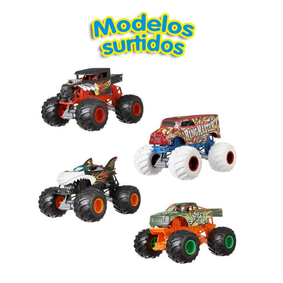 Hot Wheels Vehículos Monster Trucks Surtidos Escala 1:24