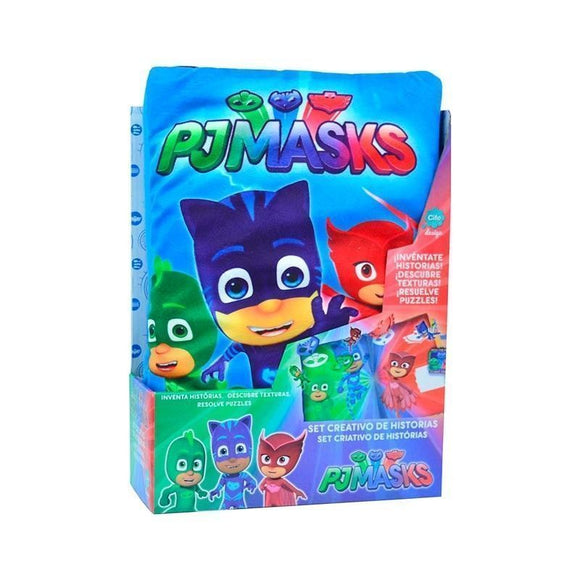 Pj Masks Set Creativo De Historias