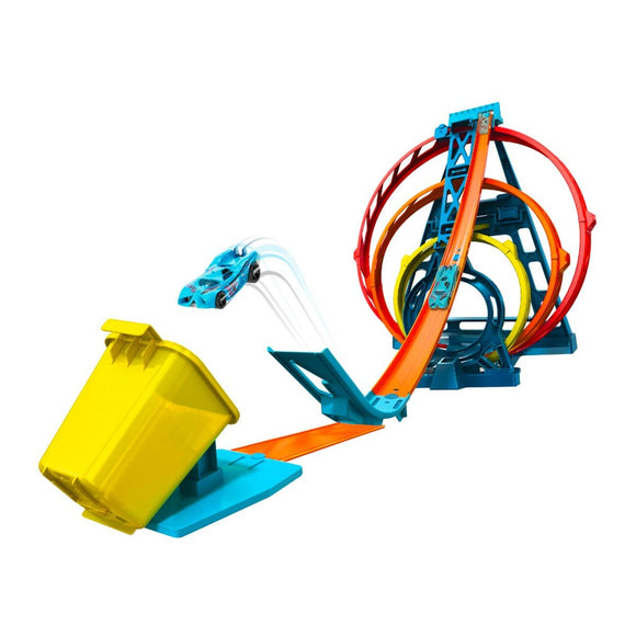 Hot Wheels Track Builder Triple Looping