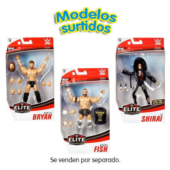 WWE Figuras Elite Collection (Varios Modelos)