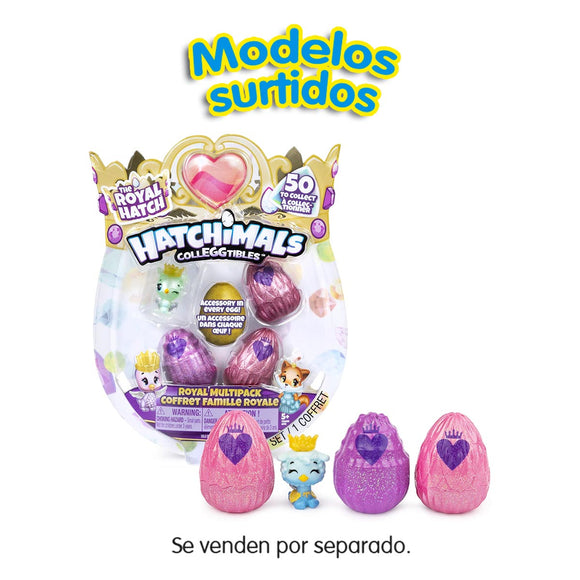 Hatchimals CollEGGtibles The Royal Hatch Temporada 6 Multipack 4 Figuras Surtidos