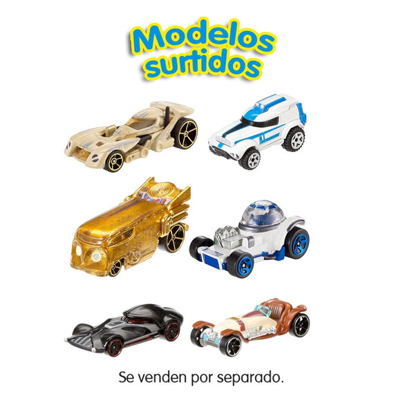 Hot Wheels Star Wars Pack de 2 Coches Escala 1:64
