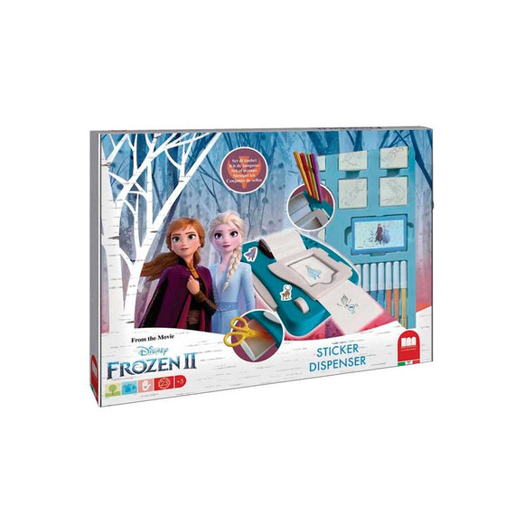 Disney Frozen 2 Dispensador de Pegatinas