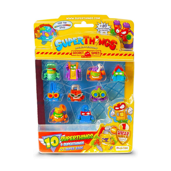 SuperThings Secret Spies Blister de 10 SuperThings (Varios Modelos)