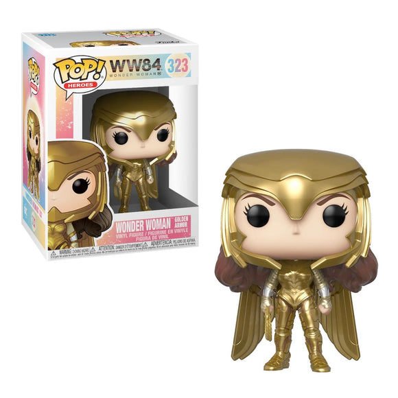 Funko Pop Wonder Woman 1984 - Wonder Woman Gold Power Pose