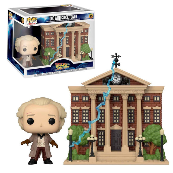 Funko Pop Movies Doc Con Torre del Reloj