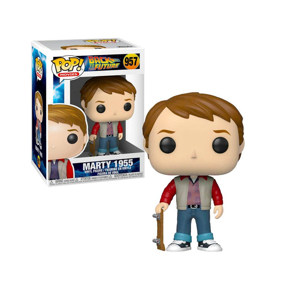Funko Pop Movies Regreso Al Futuro Marty McFly 1955