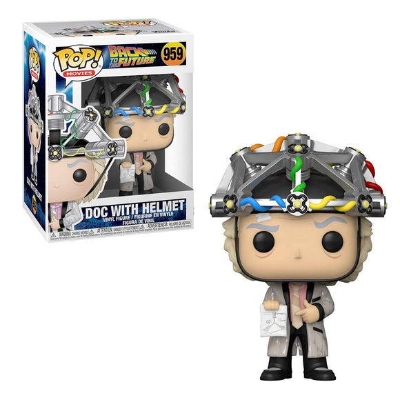 Funko Pop Movies Regreso al Futuro Doc con Casco