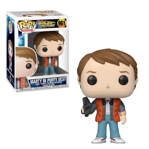Funko Pop Movies Regreso al Futuro Marty McFly con Chaleco