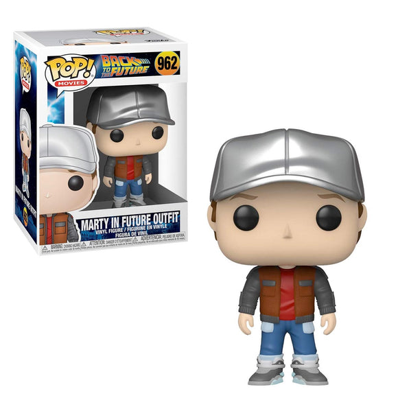 Funko Pop Movies Regreso al Futuro Marty McFly con Outfit del Futuro