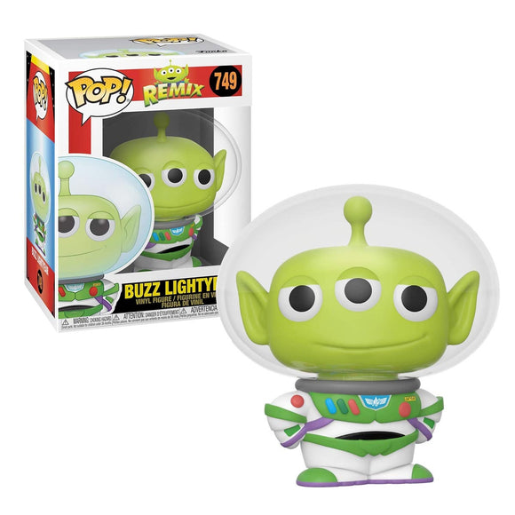 Funko Pop Disney Pixar Toy Story Alien Buzz Lightyear