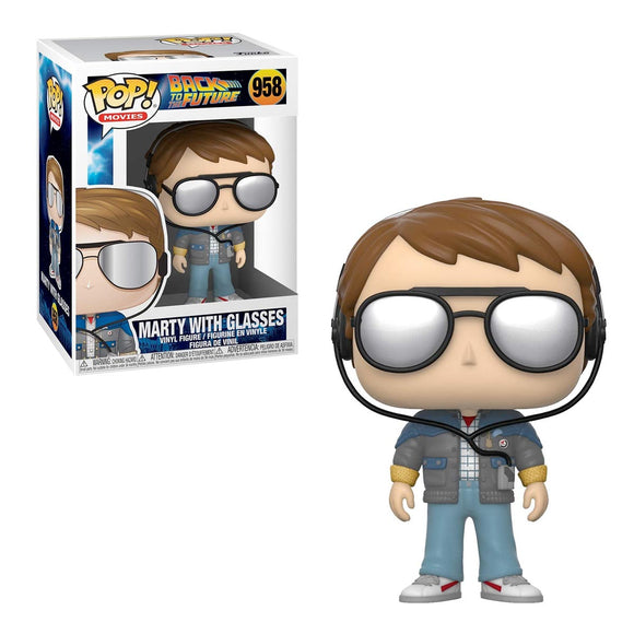 Funko Pop Movies Regreso al Futuro Marty McFly con Gafas