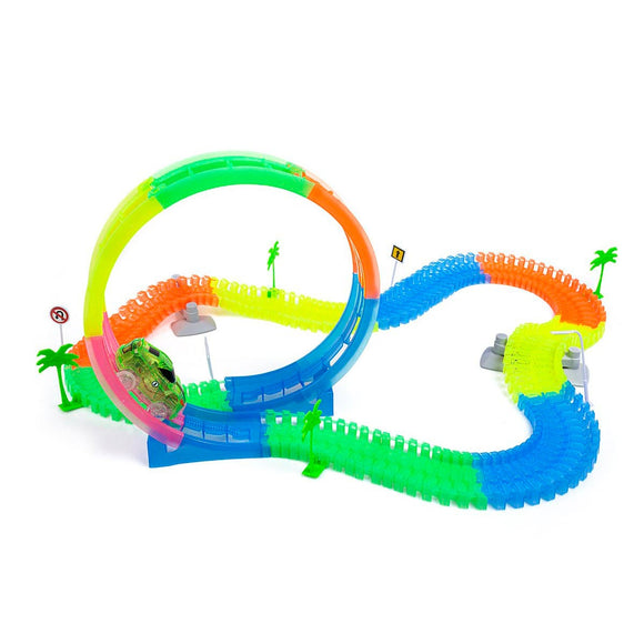 Pista Flexible Glow Tracks Loop 360°