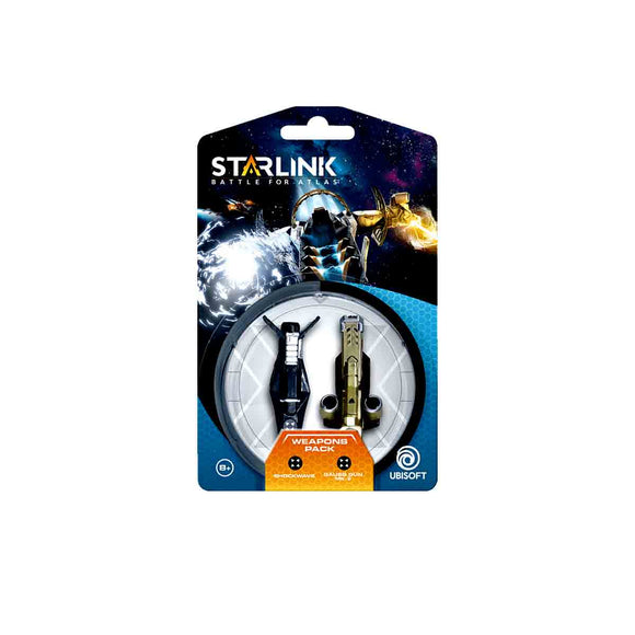 Starlink Pack Armas Shockwave + Gauss