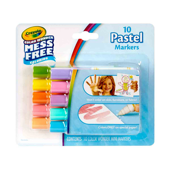 Crayola Color Wonder Mini Rotuladores Pastel