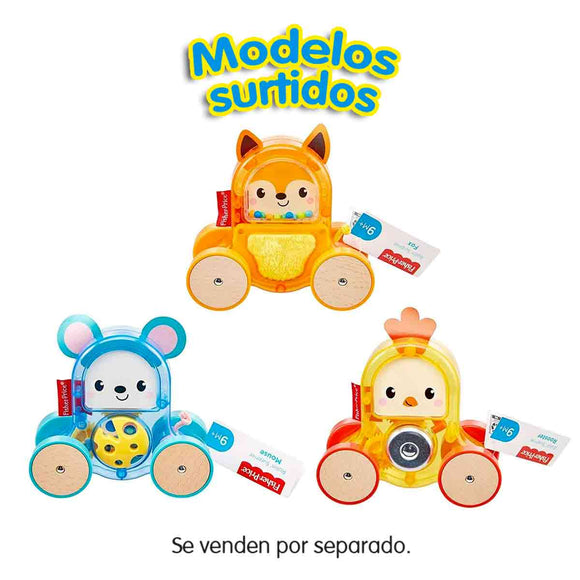 Fisher-Price Animalitos de Arrastre Rollin' Surprise