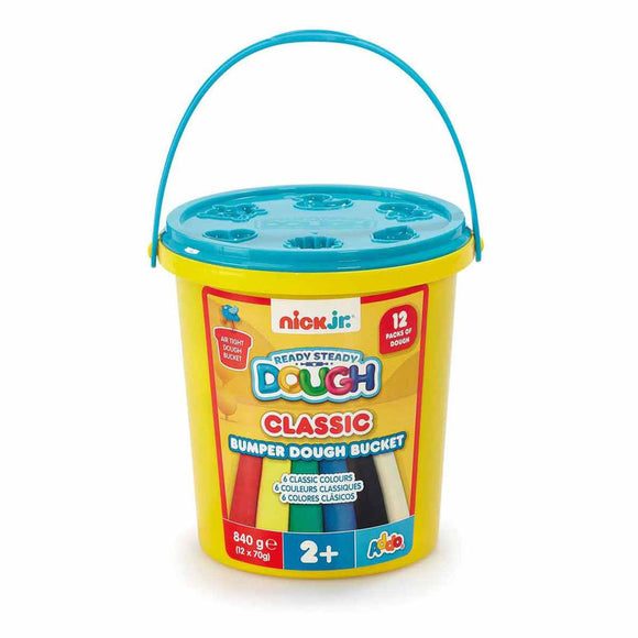 Ready Steady Dough Cubo Clásico de Plastilinas