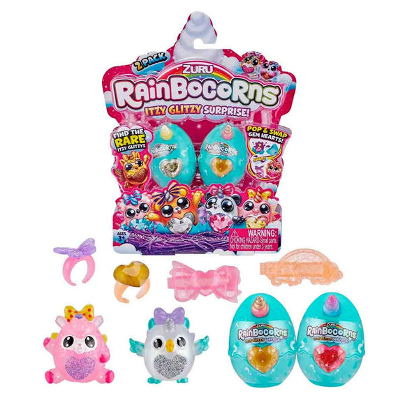 Rainbocorns Itzy Glitzy Surprise Pack de 2