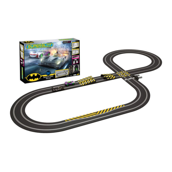 Scalextric Circuito de Carreras Batman y Joker