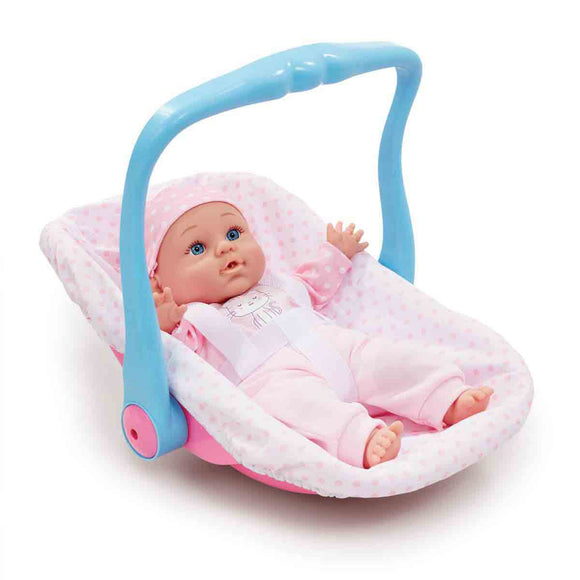 Be My Baby Muñeco con Asiento Transportable