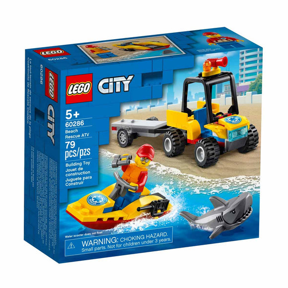 Lego City Quad de Rescate Costero - 60286