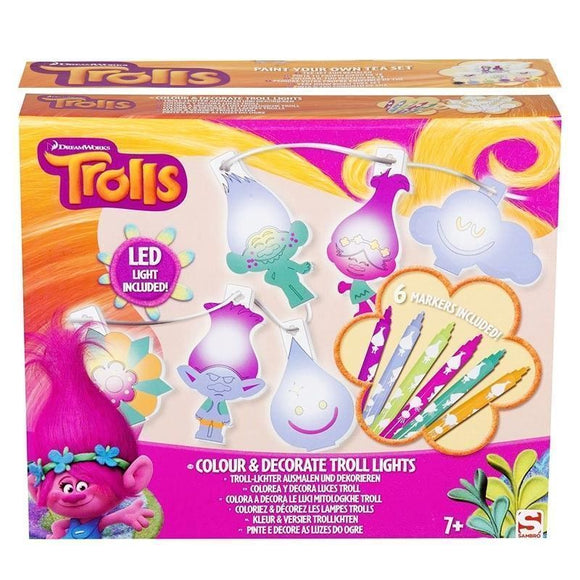 Trolls Colorea Y Decora Con Luces Led