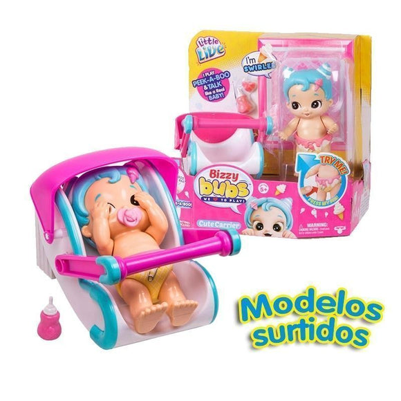 Little Live Bizzy Babies Con Accesorios